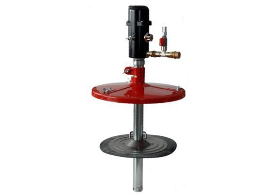 pneuMATO-fill -50d pour fût de griasse de 50 kg, ø 355-387 mm
