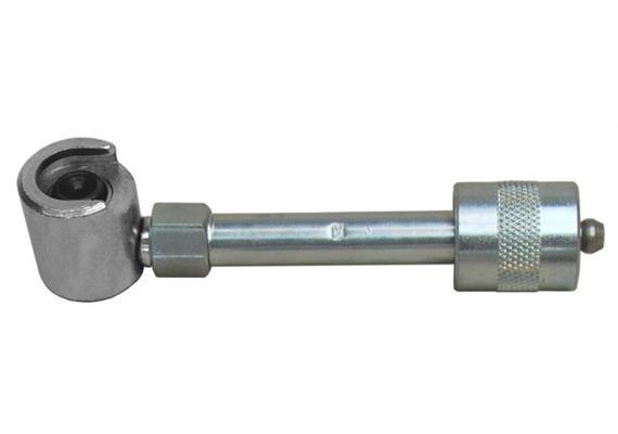 Raccord rigide avec coupleur rapide F15 avec agrafe à tirer (16mm)