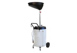 Récupérateur d'huile usée 90 l avec réservoir sur châssis roulant