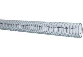 Tuyau d'aspiration PVC/PU DN25 avec spirale en acier