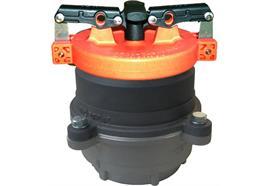 """Vapor Recovery Adaptor avec arrête flamme RCoil 4"""" - 3"""" EN16852 avec couvercle"""