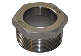Adattatore barile in acciaio inossidabile, diametro 42.5 mm