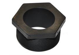 Adattatore barile in polipropilene, diametro 51 mm