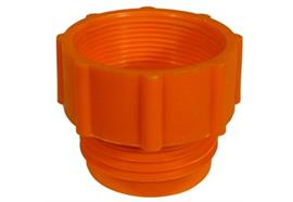 """Adattatore per fusti in plastica, filetto- ø esterno S56x4 (2"""" TriSure) - ø interno 2"""""""