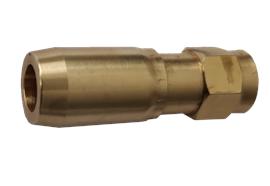 Beccuccio antigoccia in ottone M12x1 femmina per liquido lavavetri o antigelo