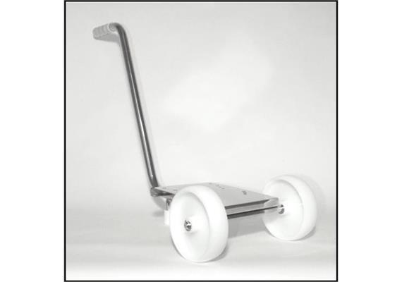 Carrello in acciaio inossidabile per elettropompe EPLR/APLR 40+50