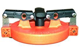 "Coperchio arancione per Vapor Recovery Adaptor 4"""