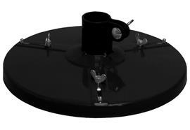 Coperchio di centraggio - D 10-15 - ø 308mm per fusti di ø esterno 225-295mm
