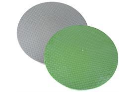 Coperchio leggero in PRFV Ø 990 mm per pozzetto in calcestruzzo