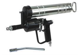DFO 500 con tubo rigido 4024, testina a 4 griffe Hydraulik e valvola di ritegno