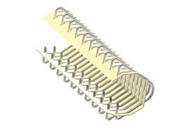 Giunzione R33-S-300-12 - filo ø 1,4 mm in 1.4016 (S) - senza asticelle