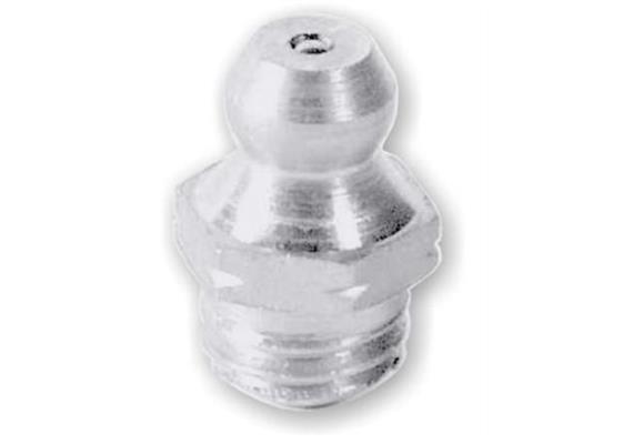 Ingrassatore H1 M10x1 in acciaio temperato 1.4305(V2A), esagonale 11. Unità imballaggio 10