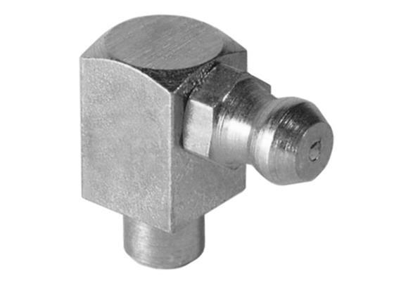 Ingrassatori idraulici a cono. H3 a 6mm, a pianto. Unità imballaggio 100