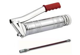 """Lube-Schuttle®-Ingrassatore a leva, attacco rigido, tubo 300mm in plastica PH30-C. R1/8"""""""