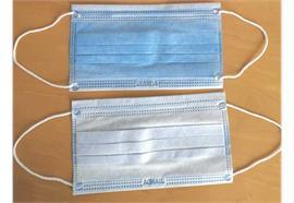 Mascherina monouso a 3 strati tipo I, confezioni da 50 pezzi