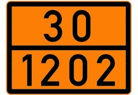 Pannello arancione riflettente autoadesivo 30/1202, 300 x 400 mm