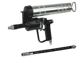 Pistola pneumatica a una mano DF501 MATO con tubo in gomma RH30-C e testina a 4 griffe