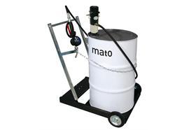 pneuMATO 1-AF mobile con tubo in gomma DN12 di 4 metri