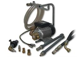 Pompa a ruota dentata elettrica AEP100, con accessori completi