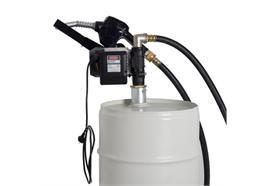 Pompa elettrica per fusti o cisterne EP50-AZ-D con pistola automatica
