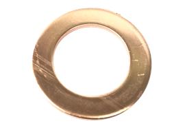 Rondella in rame VonRoll Ø 24/16x1 mm per chiusini 2660
