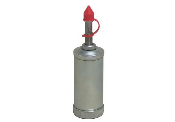 Siringa ad alta pressione PT80-2, zincata, con testina universale e testina svasata
