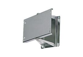 Staffa girevole ST30 in acciaio verniciato RAL7016 per HR serie 3000, 3500, 3501, 3502