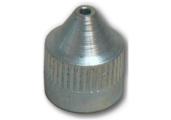 Testina a punta per ingrassatori tipo D, M10x1