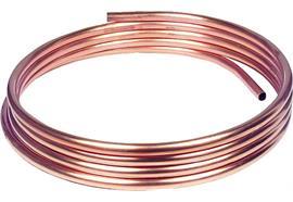 Tubo d'installazione in rame morbido 6 x 1 mm