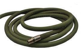 Tubo in EPDM DN13 per solventi da 2 m, raccordi in acciaio inox