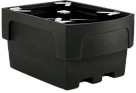 Vasca di contenimento per IBC in PE per 1 IBC da 1000 litri